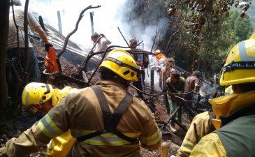 De regreso: volvieron de Chile los bomberos de nuestra ciudad